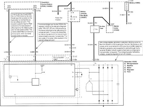 2001 Escape Charging Diagram by 2004 Ford Escape Alternator Wiring Diagram Wiring Forums