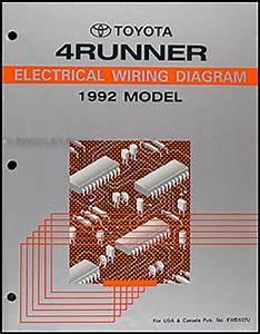 Electrical Wiring Diagram 1992 Toyota : 1992 toyota 4runner wiring diagram manual original ~ A.2002-acura-tl-radio.info Haus und Dekorationen