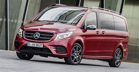 Gambar Mobil Mercedes V Class by Mercedes V Class Gets Two New Variants For Iaa Paul