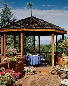 Dach Selber Bauen : 50 gartenlauben aus holz gartenpavillon selber bauen ~ Yasmunasinghe.com Haus und Dekorationen