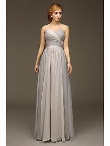 2016 new sweetheart bridesmaid dresse silver long wedding With long dress wedding party
