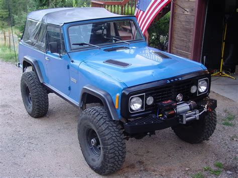 commando jeepster 1972 jeep jeepster commando information and photos