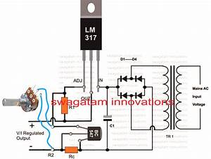 How To Connect Pot With Lm317 Or Lm338 Circuit In 2019