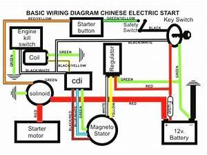 Wiring Diagram For Mini Bike