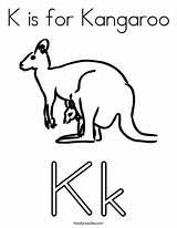 Noodle Twisty Board Coloring Kangaroo Visit Letter Alphabet sketch template