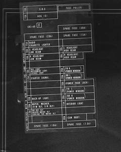 93 Honda Civic Fuse Box Diagram