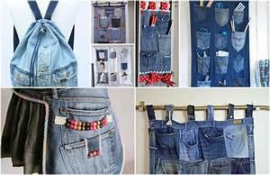 Nähen Aus Alten Jeans : 20 super einfache upcycling ideen aus alten jeans ~ Frokenaadalensverden.com Haus und Dekorationen