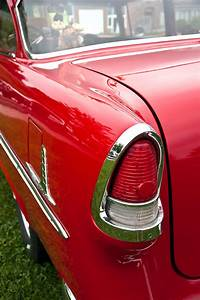 1955 Chevrolet Bel Air Tail Light Photograph By Glenn Gordon