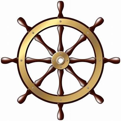 Wheel Ship Clip Clipart Ships Helm Transparent