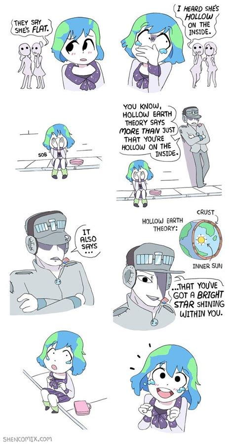 Earth Chan Memes - earth chan has a bright star on the inside earth chan know your meme