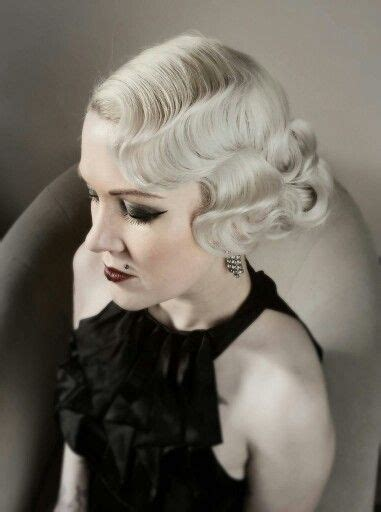 Modern 1940s Hairstyles by 1930s Fingerwave Modern Vintage Hair And Make Up By