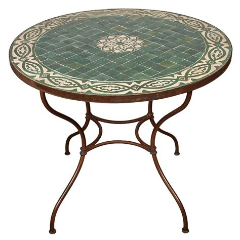 moroccan tile tables moroccan mosaic tile table top at 1stdibs