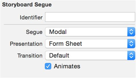 how to create form sheet popup for ios 8 1 stack