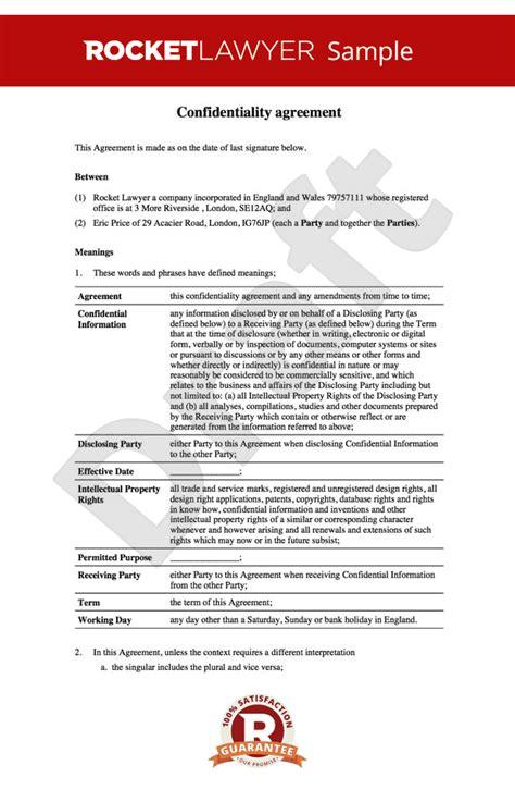 nda  disclosure  confidentiality agreement