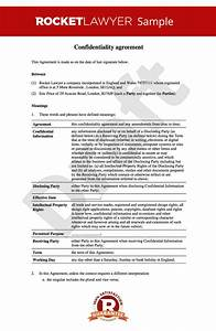 free nda non disclosure and confidentiality agreement With letter of confidentiality and nondisclosure template