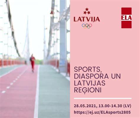 ELA un LOK 28.maijā aicina uz diskusiju sporta nozarē ...