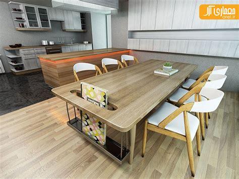 autocad kitchen design دانلود صحنه آماده آشپزخانه 3d max آرل 1395