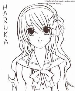 Haruka: Her New Hairstyle by PitaTenshiChama on DeviantArt