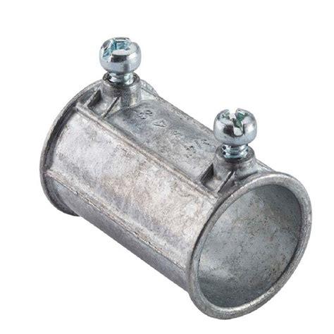 halex   electrical metallic tube set screw couplings