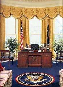 A Fresh Coat Of Bland  The Oval Office Redecoration