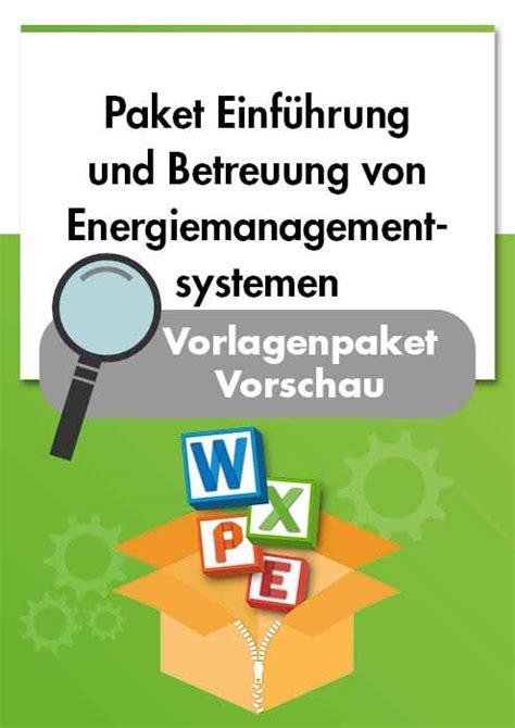 energiemanagement iso  und energieaudit en