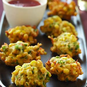 spicy thai crab  sweet corn fritters keeprecipes