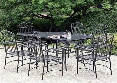small metal patio table furniture metal outdoor dining table image of full size