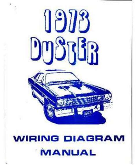 Wiring Diagram 1973 Plymouth Duster by 1973 Plymouth Duster Wiring Diagrams