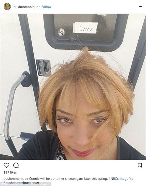 actress dies chicago fire dushon monique brown dies chicago fire actress was 49