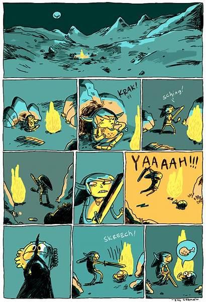 Zelda Comics Comic Legend Gorman Fan Right