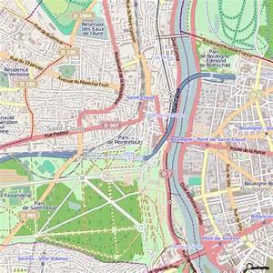 Piscine St Cloud : plan saint cloud carte ville saint cloud ~ Melissatoandfro.com Idées de Décoration