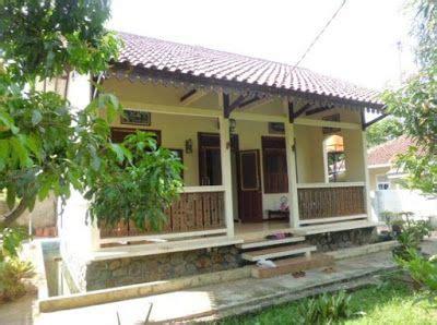 foto etnik rumah sederhana  desa rumah idaman
