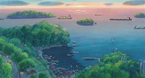 hayao miyazakis footsteps  tomonoura japan