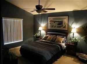 Mens, Bedroom, Ideas, With, Strong, U201cmasculine, Taste, U201d