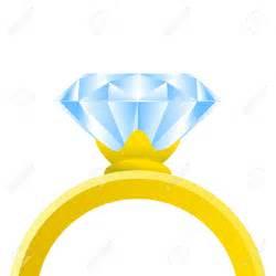 Diamond Ring Vector Clip Art