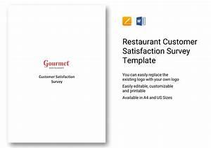 Questionnaire on Restaurant Customer Satisfaction Survey
