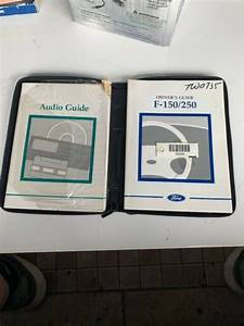Ford F150  250 Owners Guide  Manual 1997