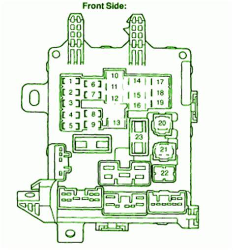2004 honda corolla engine fuse box diagram circuit wiring diagrams