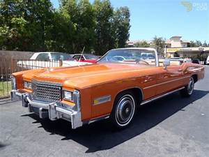 Cadillac Eldorado Cabriolet : classic 1975 cadillac eldorado cabriolet roadster for sale 2461 dyler ~ Medecine-chirurgie-esthetiques.com Avis de Voitures