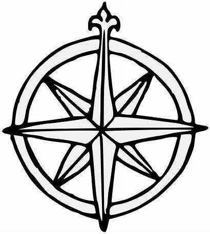 Compass Rose Svg Pdf Traceable Charge