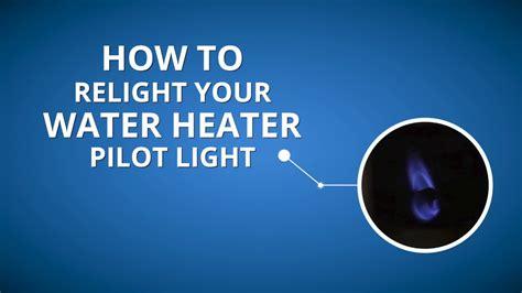 gas heater pilot light state select gas water