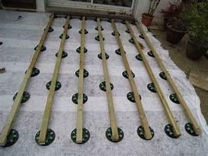 Plot Terrasse Castorama : poser une terrasse composite sur lambourdes et plots mon ~ Dode.kayakingforconservation.com Idées de Décoration