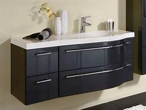 Waschtisch Mit Becken : puris swing waschtisch mit unterschrank 120 6 cm breit becken rechts badm bel 1 ~ Markanthonyermac.com Haus und Dekorationen