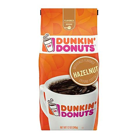 Dunkin' donuts swirls are made with sweetened condensed milk and flavored with cocoa, vanilla and other flavors to achieve the variety of flavors. Dunkin Hazelnut Flavored Ground Coffee, 12 Ounces Packaging ...