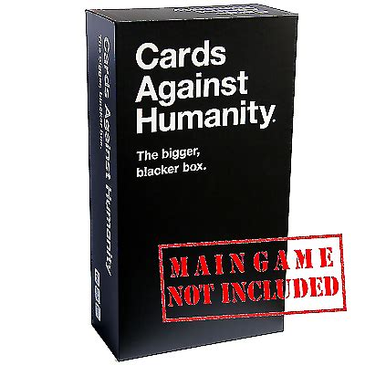 Check spelling or type a new query. Cards Against Humanity Bigger Blacker Box for sale online | eBay