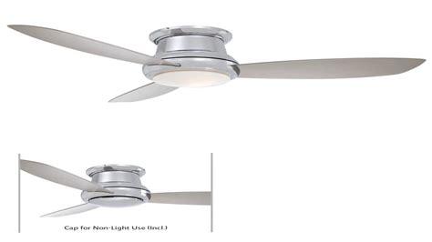 minka aire f bn inch concept ii flush mount ceiling fan