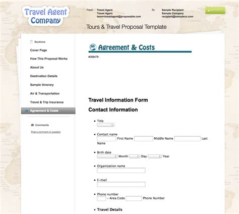 Company Trip Proposal Template by Business Proposal Templates The Proposable Blogthe