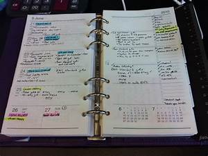 Weekly Day Planner Davinci Diary Pages Week On 2 Pages With Time Notes And