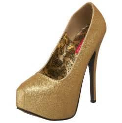Cheap Glitter High Heels Shoes