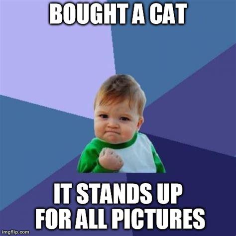 Success Cat Meme - success kid meme imgflip